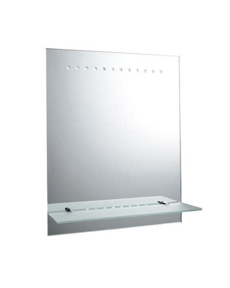 Battery Operated Led Bathroom Mirrors Endon Taro Battery Operated Led Bathroom Mirror 61596