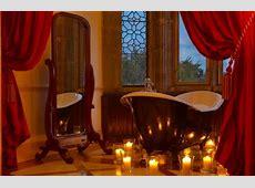 20 Romantic Bathroom Designs – Adorable Home Rose Petals And Candles Ideas