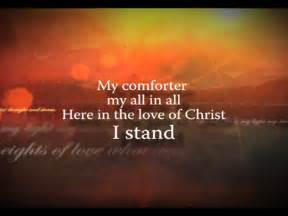 My Comforter My All In All In Christ Alone Iworship Flexx Video Worship Song Track