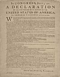 four sections of the declaration of independence watch and remember the words that built america