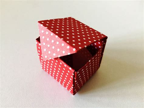 Traditional Origami Box - easy origami box origami origami boxes
