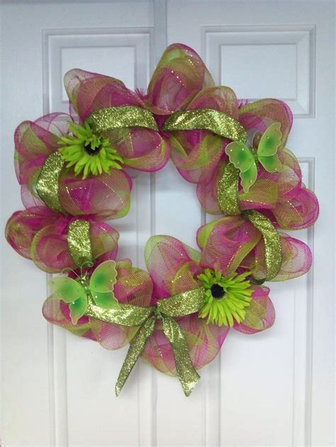 spring wreath ideas spring summer wreath my creation wreath and decorating