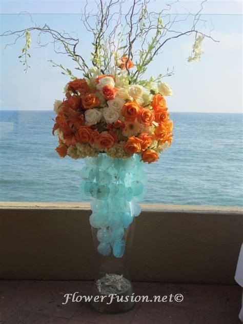wedding flowers orange county california 2 surf and sand wedding 2 flowerfusion