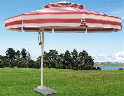 Side Patio Umbrella by Side Pole Striped Patio Umbrella Colorful