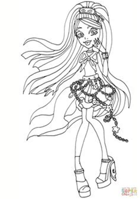 monster high coloring pages great scarrier reef posea reef from the great scarrier reef posea reef