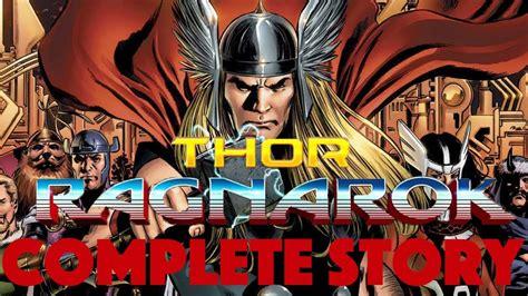 thor ragnarok film story thor ragnarok complete story comic youtube