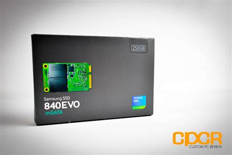 review samsung 840 evo 250gb msata ssd custom pc review