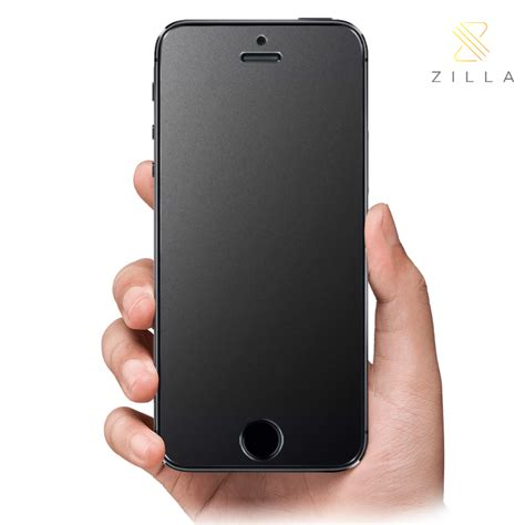 Tempered Glass Iphone 5 5s Depan Belakang Aksesoris Hp Termurah zilla 2 5d matte tempered glass curved edge 9h for iphone