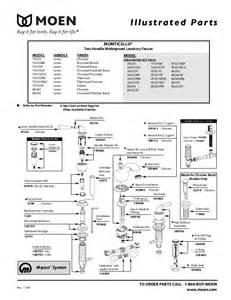 moen 4570 faucet repair diagram delta faucet repair