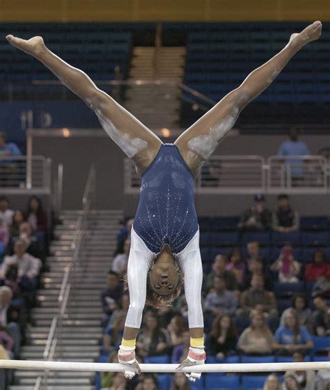 Or Gymnastics Oregon State Poses Emotional Meet For Ucla Gymnastics