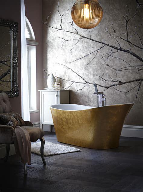 Vintage Badewanne heritage holywell metallic free standing bath autumn