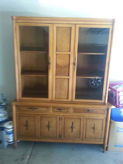 1960s China Cabinet Drexel China Cabinet My Antique Furniture Collection