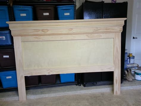 diy mantel headboard ana white mantel moulding headboard diy projects