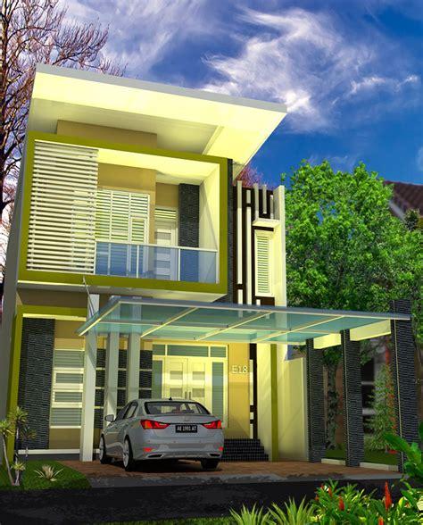 desain gazebo depan rumah desain rumah minimalis bpk robby di jambi multidesain