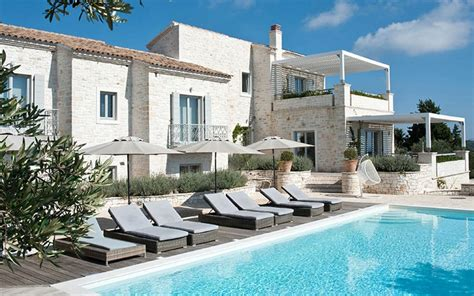 holiday apartment europe four of the best luxury the top 10 villa holidays in greece telegraph