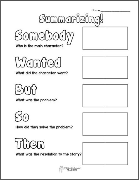 gallery for gt summarizing graphic organizer for