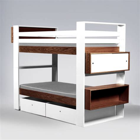 modern bunk beds ducduc austin bunk bed wood modern kids beds by