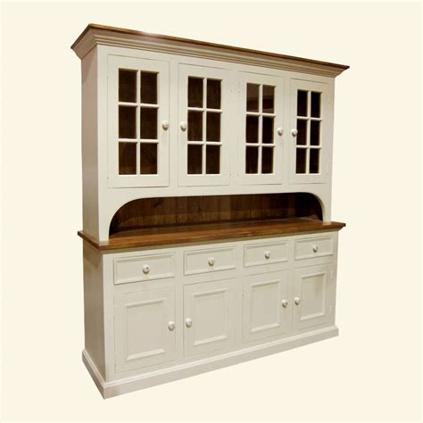french country  glass door stepback cupboard french