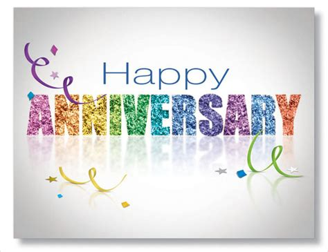 Anniversary Greeting Card Template by 9 Work Anniversary Cards Free Sle Exle Format
