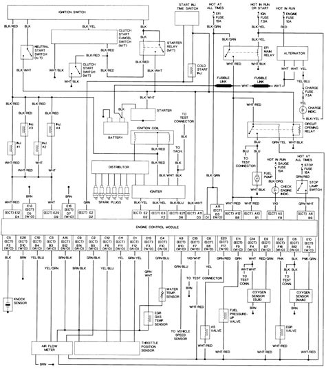 1991 toyota hiace wiring diagram wiring diagrams repair