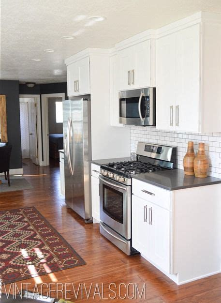 Warm White Kitchen Cabinets Warm White Kitchen Vintage Revivals Kitchens Pinterest