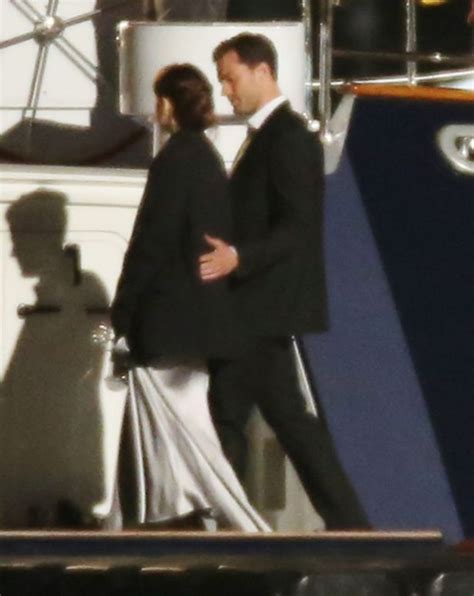 50 shades darker filming continues on luxury yacht as 50 shades darker filming continues on luxury yacht after
