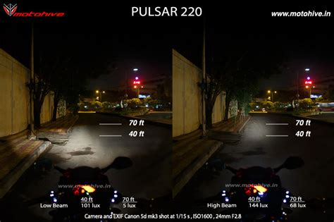 Lu Projector Pulsar 220 Motorcycle Headlight Comparison Apache 180 Vs Pulsar