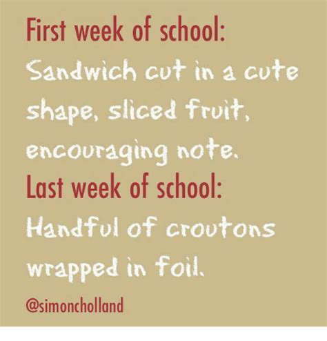 First Week Of School Meme - 25 best memes about first week of school first week of