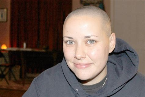bald females 2013 women bald by choice permanently short hairstyle 2013