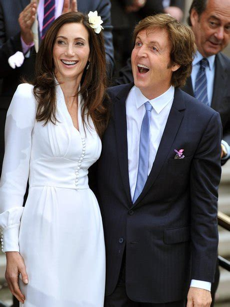 Was Paul Mccartney With Nancy Shevell by Sir Paul Mccartney Marries Nancy Shevell