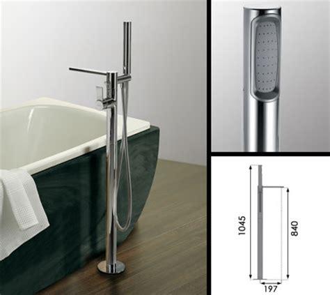 Floor Standing Bath Shower Mixer loft freestanding bath tap with shower attachment