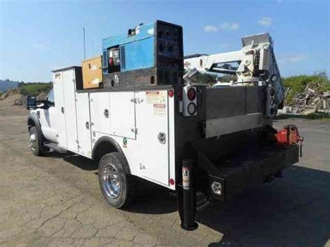 ford  service mechanics crane truck  utility