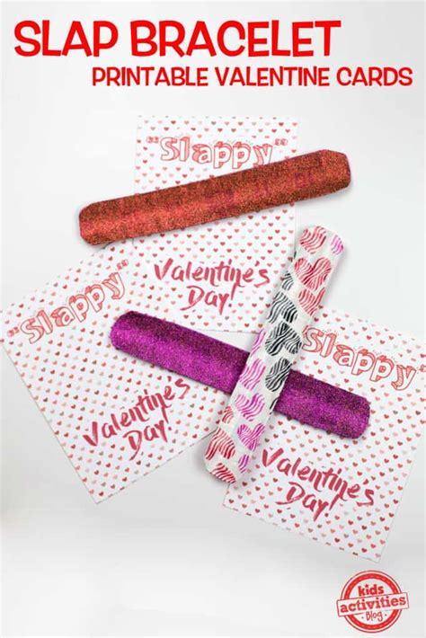 slap bracelet valentine cards skip   lou