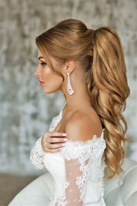 bridal hairstyles ponytail 80 lovely women ponytail hairstyles for long hair