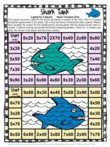printable math board games for 6th grade multiplication on pinterest multiplication games math