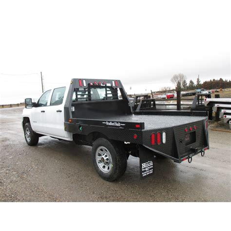 bradford truck beds bradford built flatbed work bed