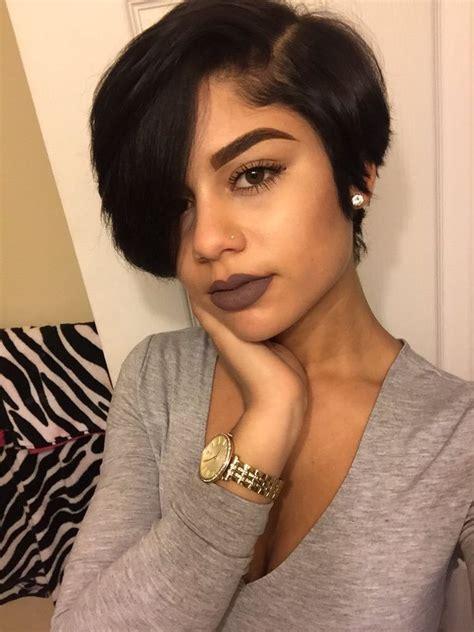cool neck length hairstyles for black women lives star pinterest prettygirlslied hairspiration pinterest