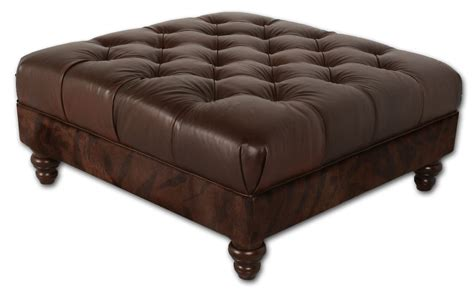 Tufted Leather Ottoman by 12 Tufted Leather Ottoman Coffee Table Inspiration