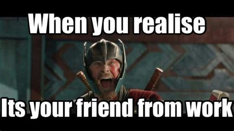 Funny Thor Memes - thor funny meme ragnarok trailer super heros