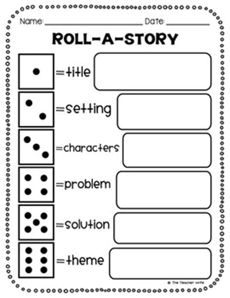 printable quiz on story elements reading comprehension worksheets activities by the