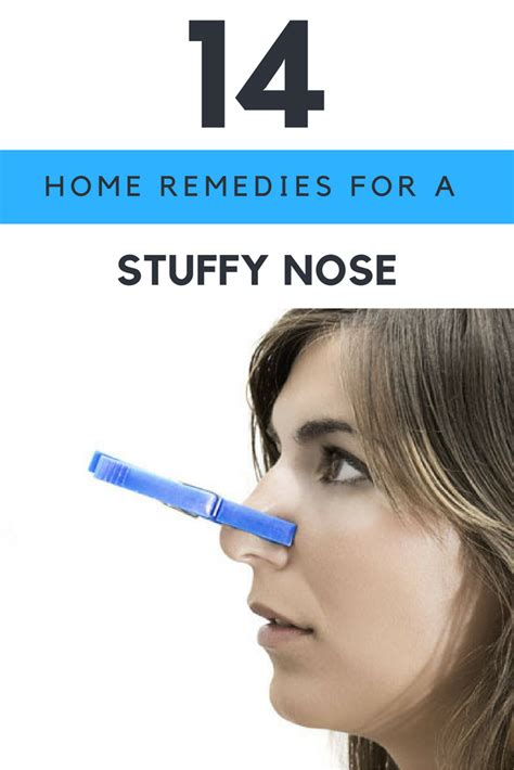 home remedies for stuffy nose 14 ways to cure nasal