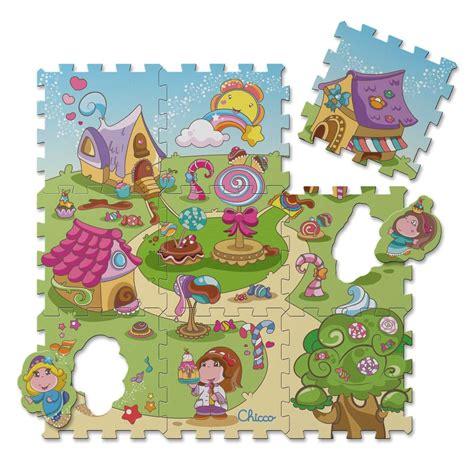 tappeti chicco tappeto puzzle caramelle giochi chicco it