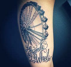 black and grey tattoo edmonton fantastic ferris wheel by chris v at monument tattoo in