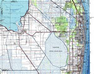map of palm florida palm county florida 1987