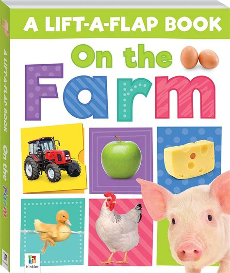 Words A Lift The Flap Board Book Ltf Hnk Fword lift a flap on the farm preschoolers 3 5 children hinkler