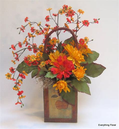 September 3 Wedding Centerpieces Silk Flowers by Best 25 Fall Flower Arrangements Ideas On