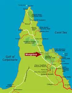 roadhouse location map musgrave cape york peninsula