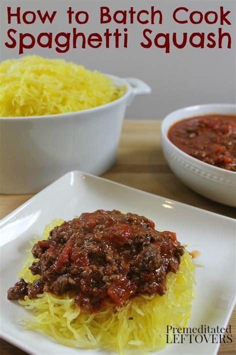 how to roast spaghetti squash and recipe ideas