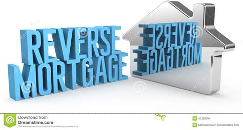 mortgage house home reverse mortgage house concept stock illustration image 41226054