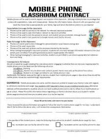 using mobile phones in the classroom a classroom contract